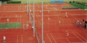 Tennisplätze Luftbild