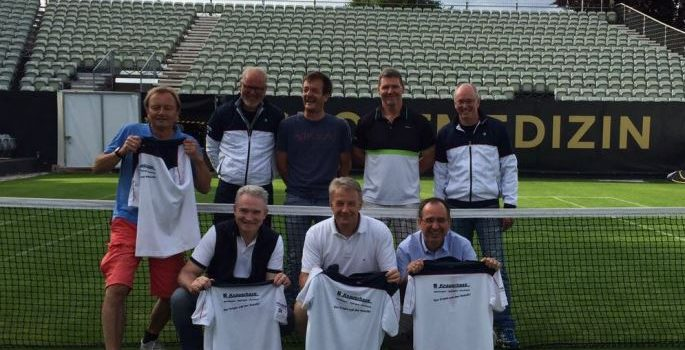Herren 50 – Tennisteam des TV Mutlangen macht Aufstieg in die Oberliga perfekt